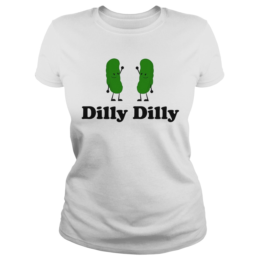 Dilly Dilly Rick Morty Deliciously Ladies Tee