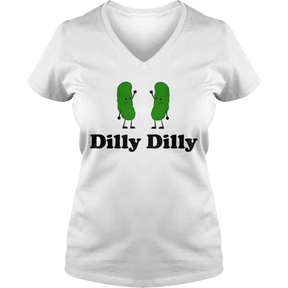 Dilly Dilly Rick Morty Deliciously V Neck T Shirt