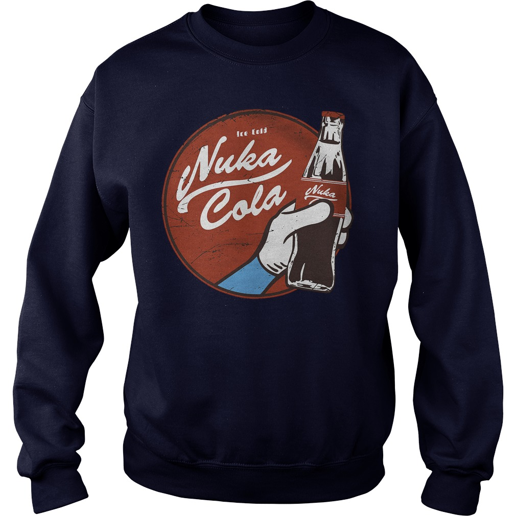 Fallout Nuka Cola Logo Shirt, Hoodie, Sweater And V Neck T Shirt
