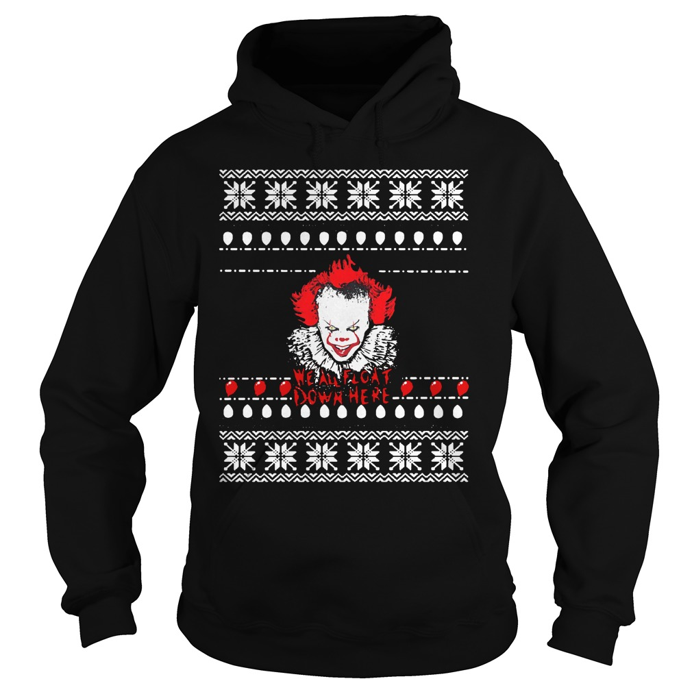Float Down Here Christmas Crewneck Ugly Sweater