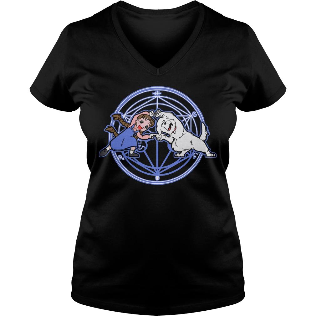 Fullmetal Fusion Ha V-neck t-shirt