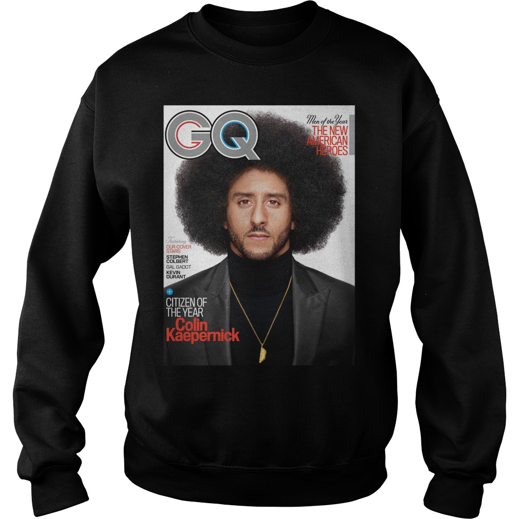 Gq Names Colin Kaepernick Its Citizen Of The Year Shirt