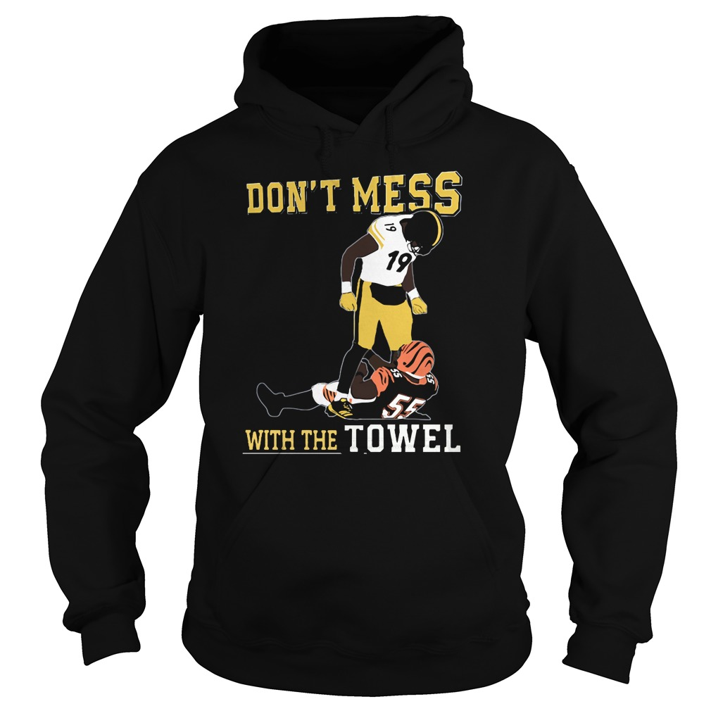 Juju Smith Vs Schuster Karma Dont Mess Towel Hoodie