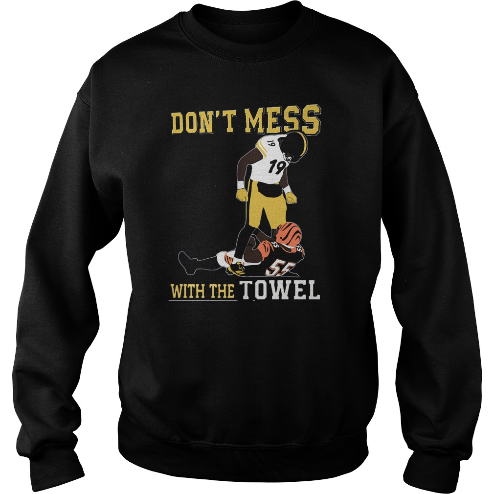 Juju Smith Vs Schuster Karma Dont Mess Towel Sweater
