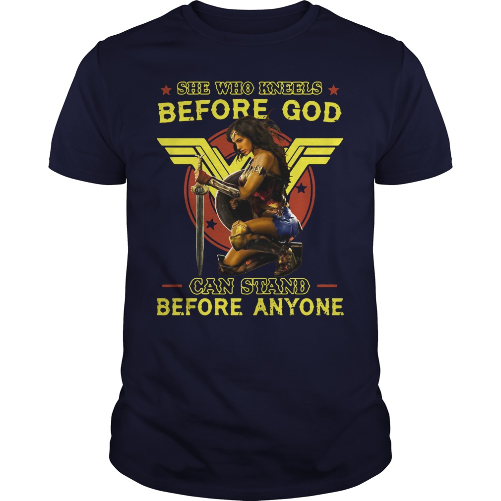Kneels God Can Stand Anyone Guys Shirt