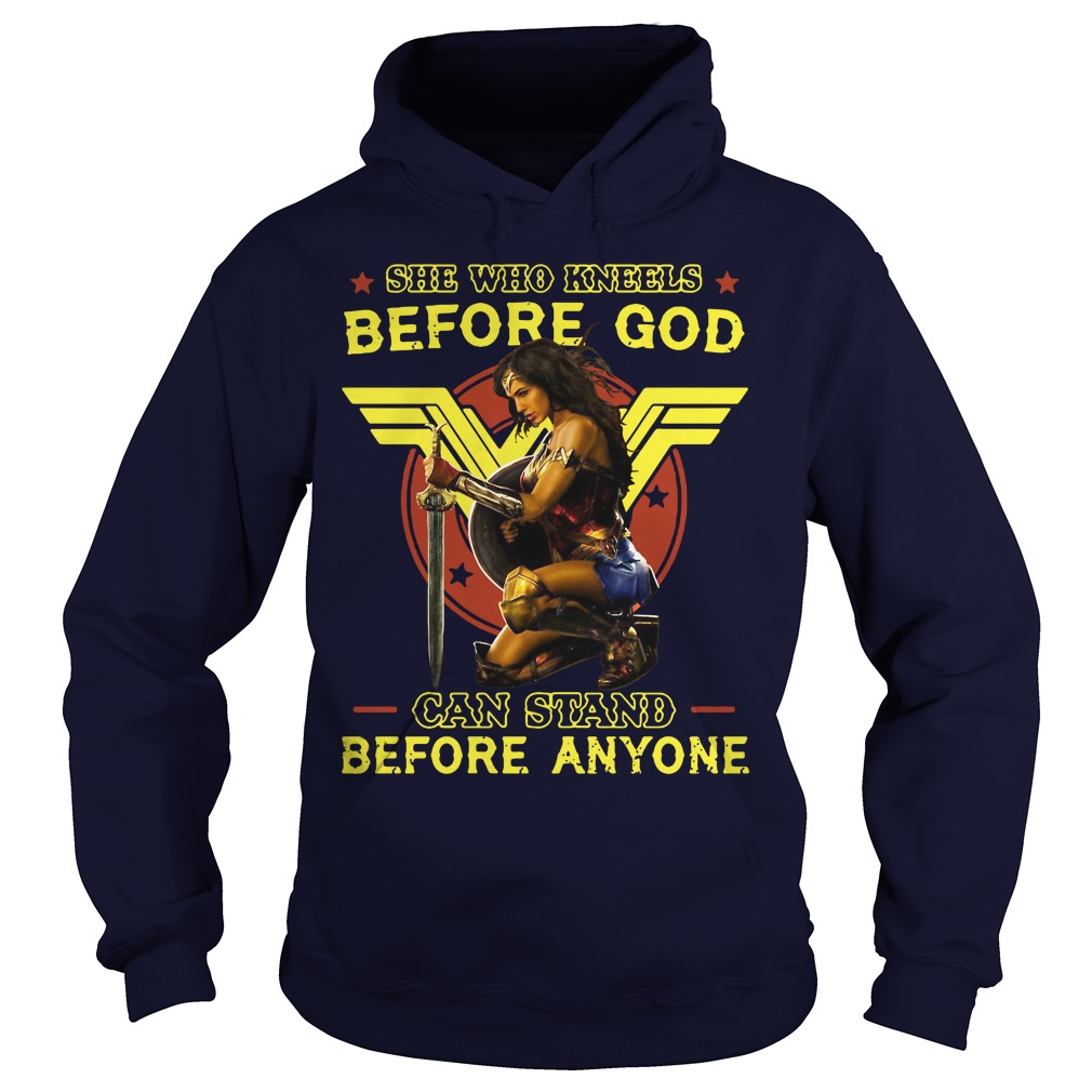 Kneels God Can Stand Anyone Hoodie