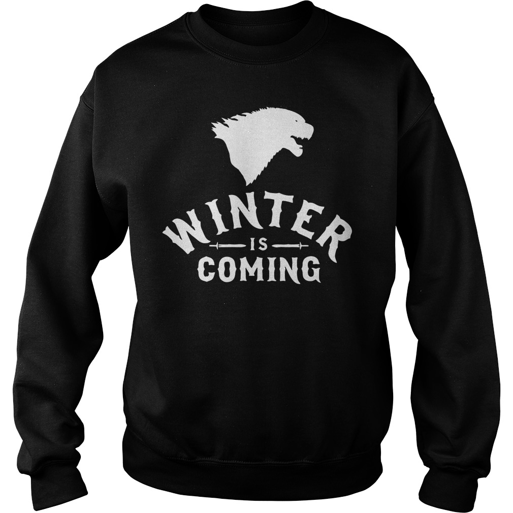 The New Designer Game Of Thrones Winter Is Coming Shirt
