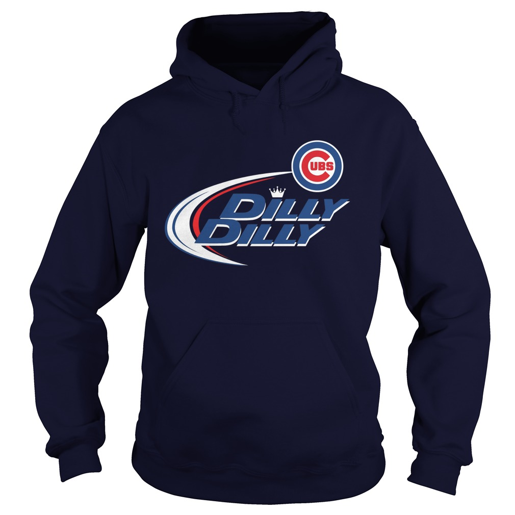 Official Dilly Dilly Chicago Cubs Bud Light Mlb Baseball Hoodie