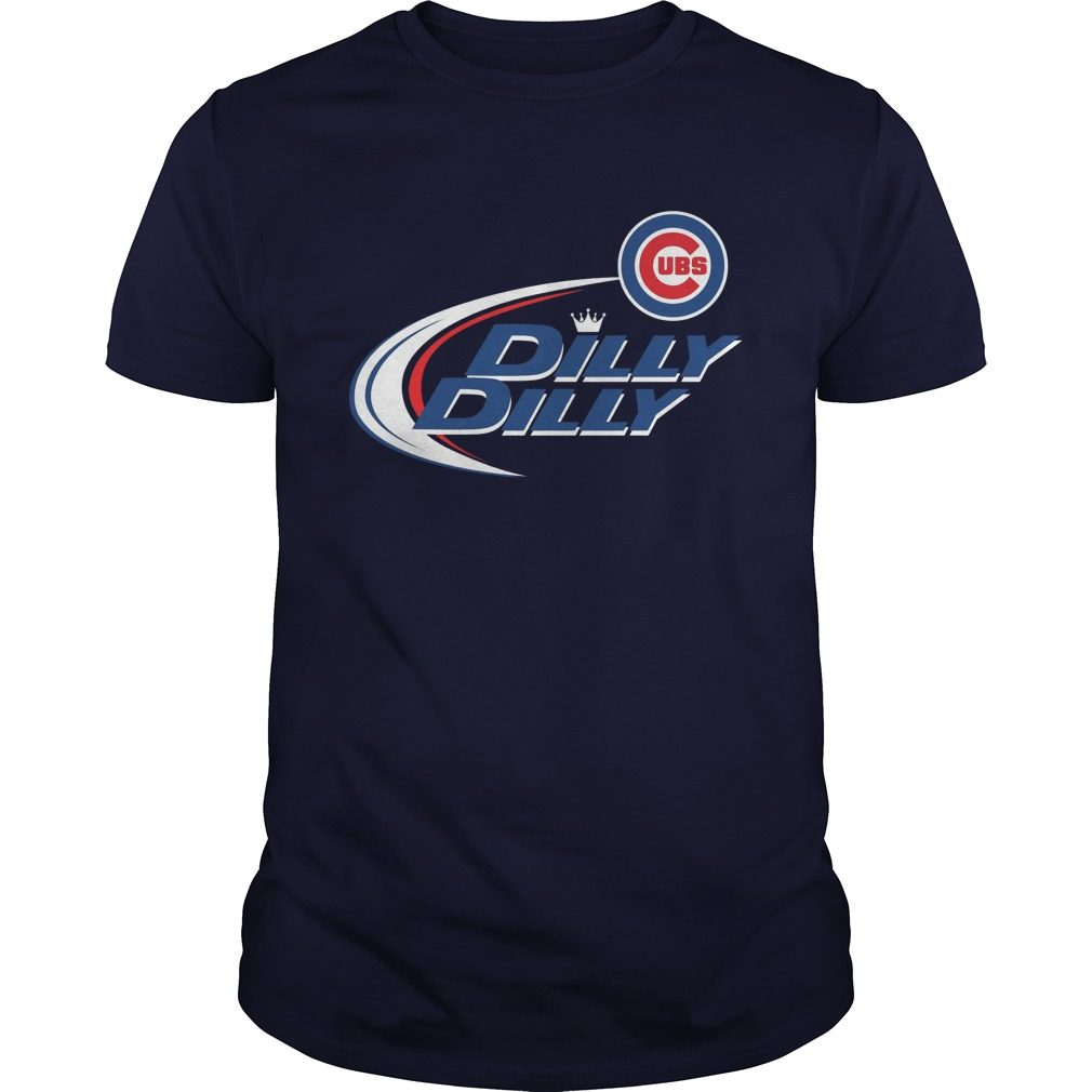 Official Dilly Dilly Chicago Cubs Bud Light Mlb Baseball Shirt