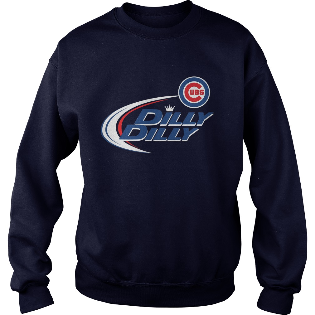 Official Dilly Dilly Chicago Cubs Bud Light Mlb Baseball Sweater