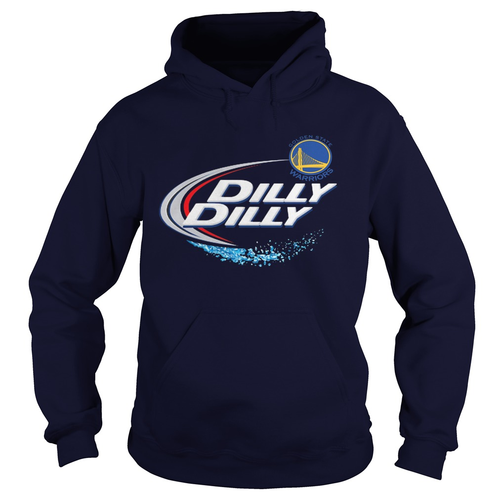 Official Dilly Dilly Golden State Warriors Bud Light Mlb Baseball Hoodie