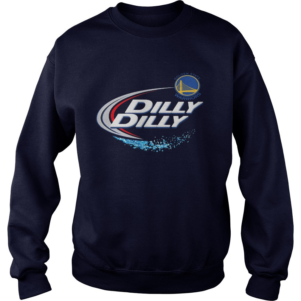 Official Dilly Dilly Golden State Warriors Bud Light Mlb Baseball Sweater