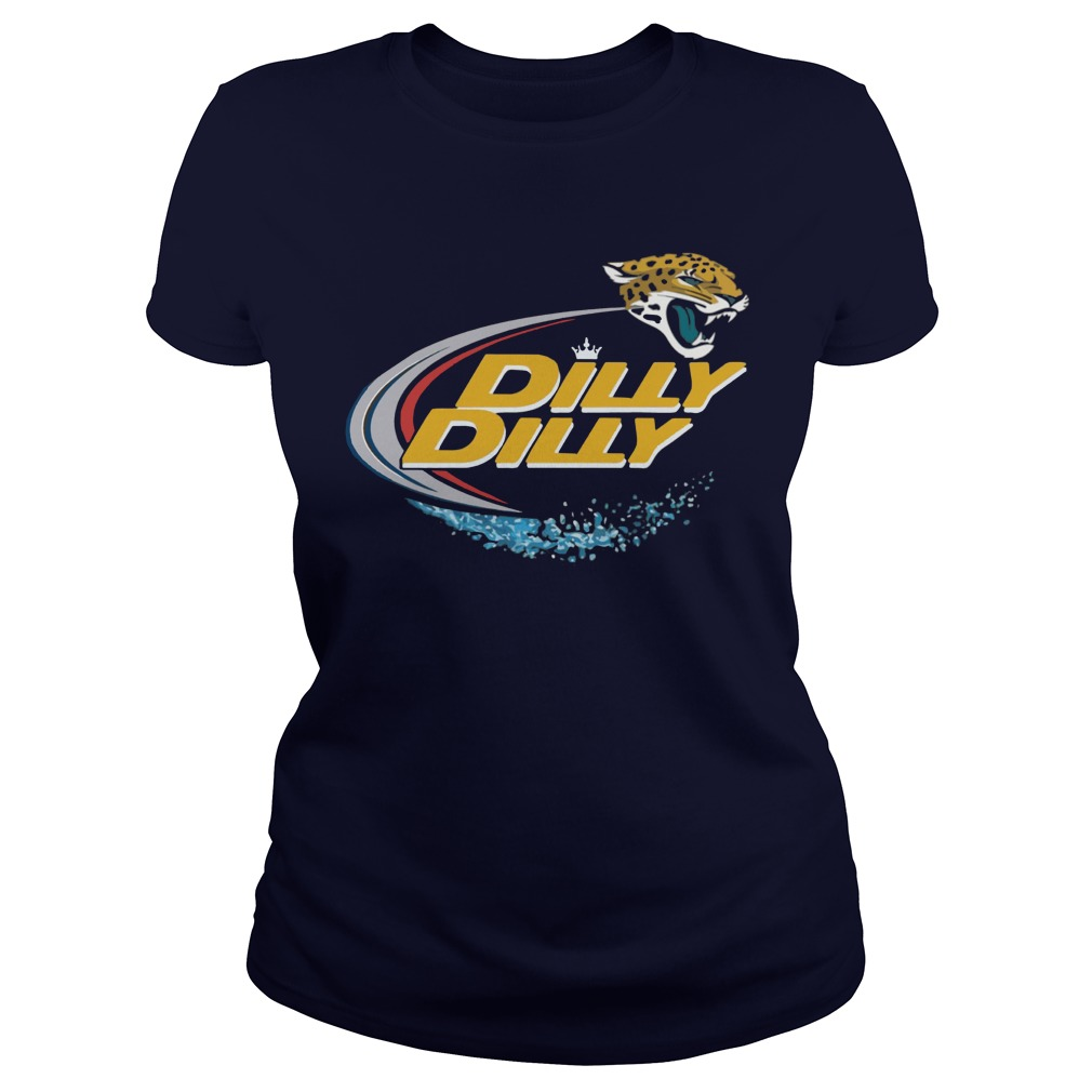 Official Dilly Dilly Jacksonville Jaguars Ladies Tee
