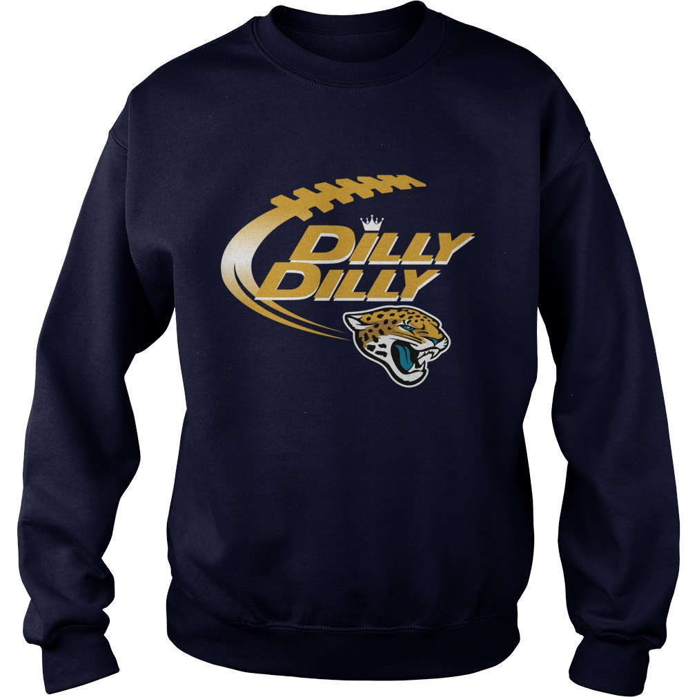 Official Dilly Dilly Jacksonville Jaguars Nfl Football Bud Light Logo Sweater