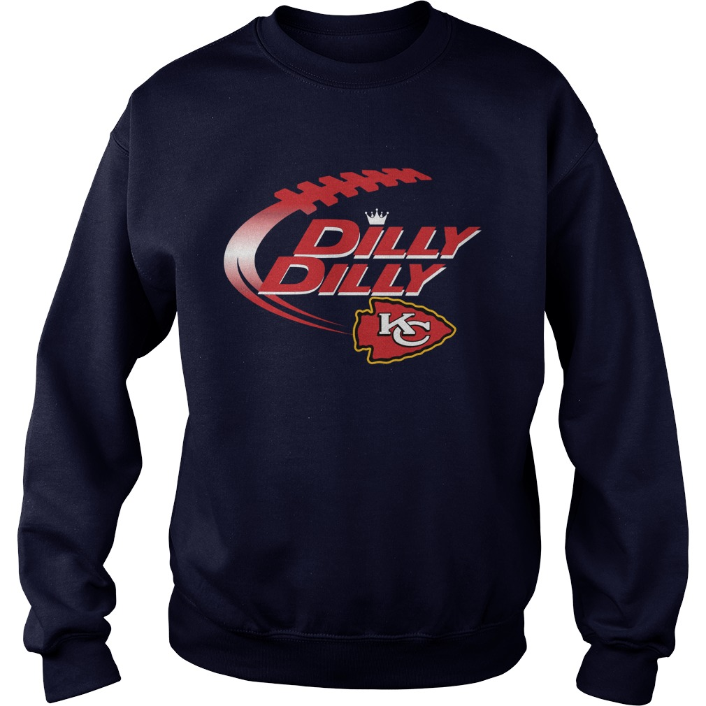 Official Dilly Dilly Kansas City Chiefs Nfl Football Bud Light Logo Sweater