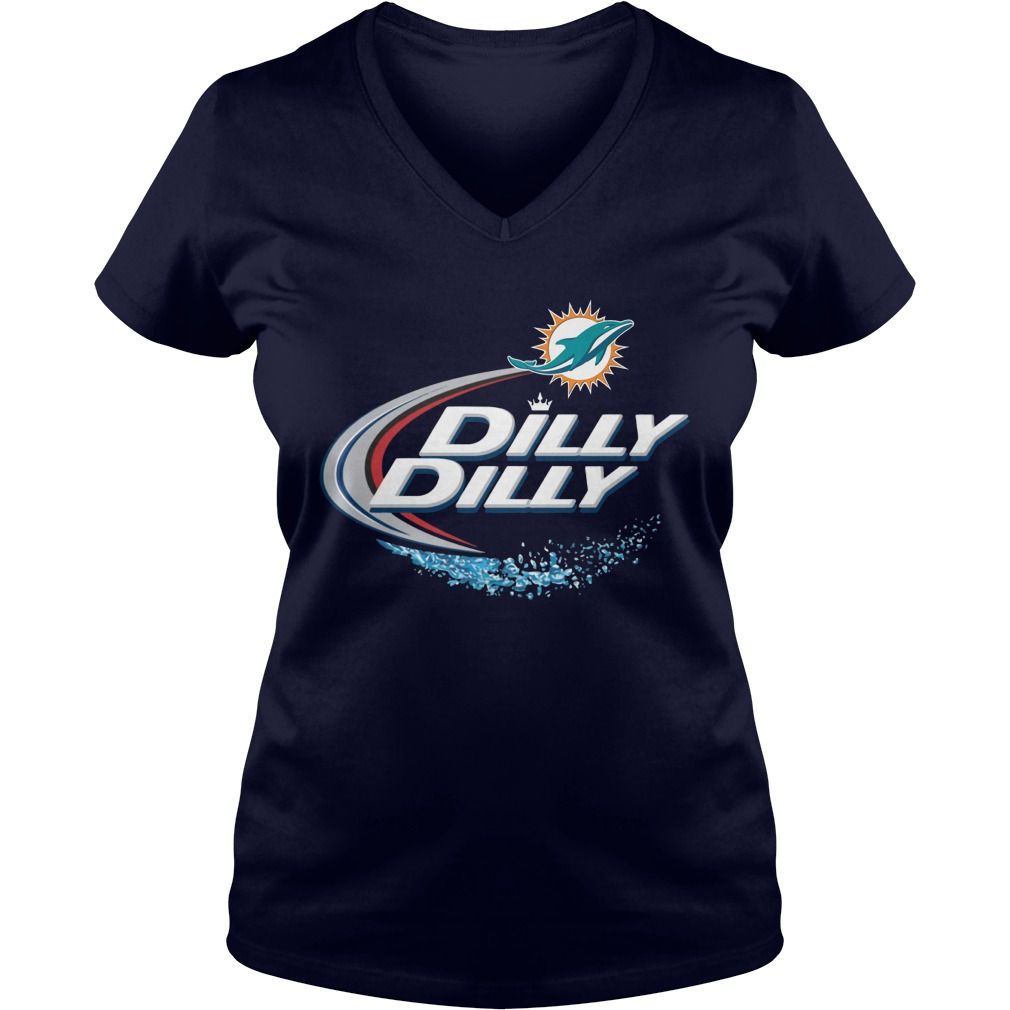 Official Dilly Dilly Miami Dolphins Shirt, Hoodie, Sweater And V Neck T Shirt