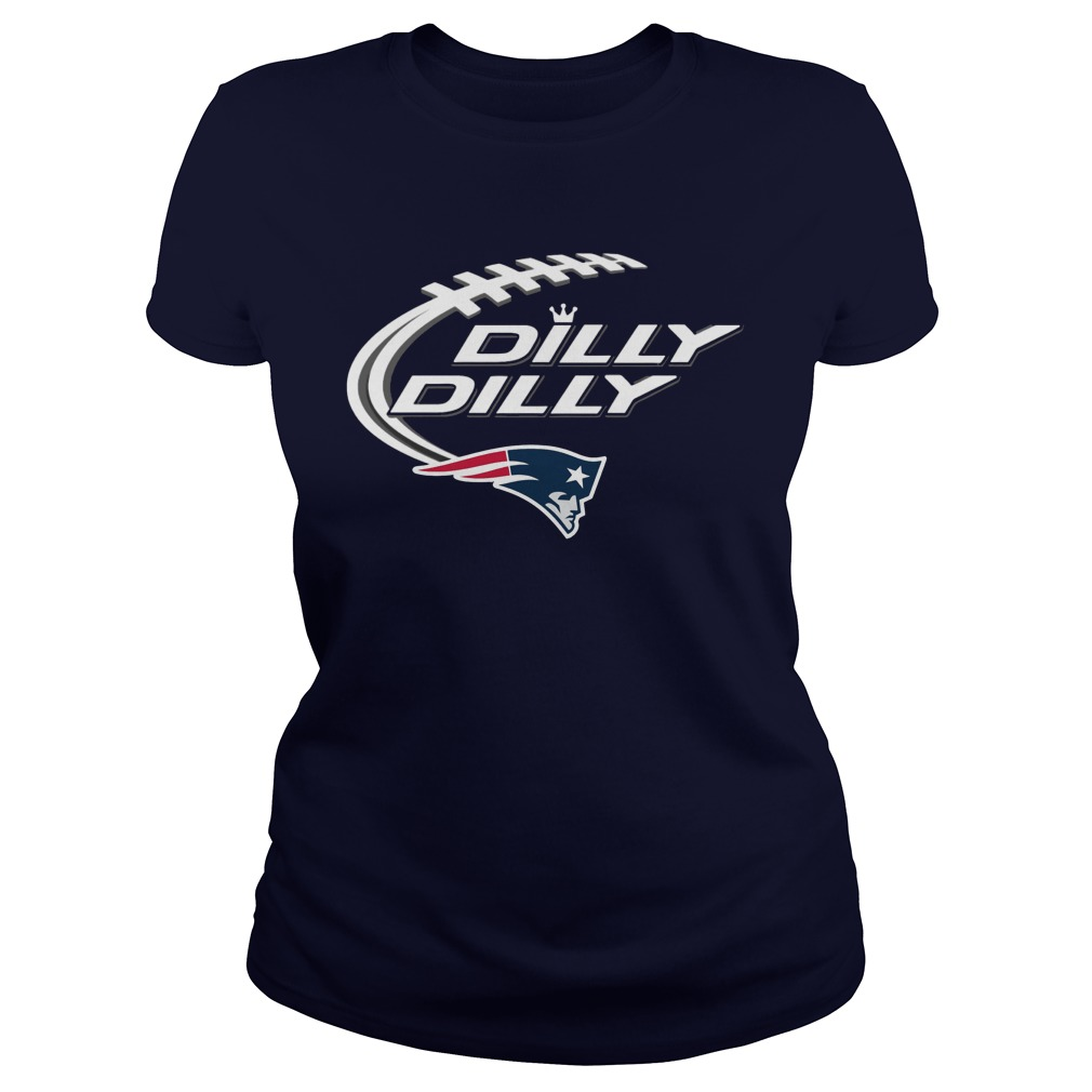 Official Dilly Dilly New England Patriots Ladies Tee