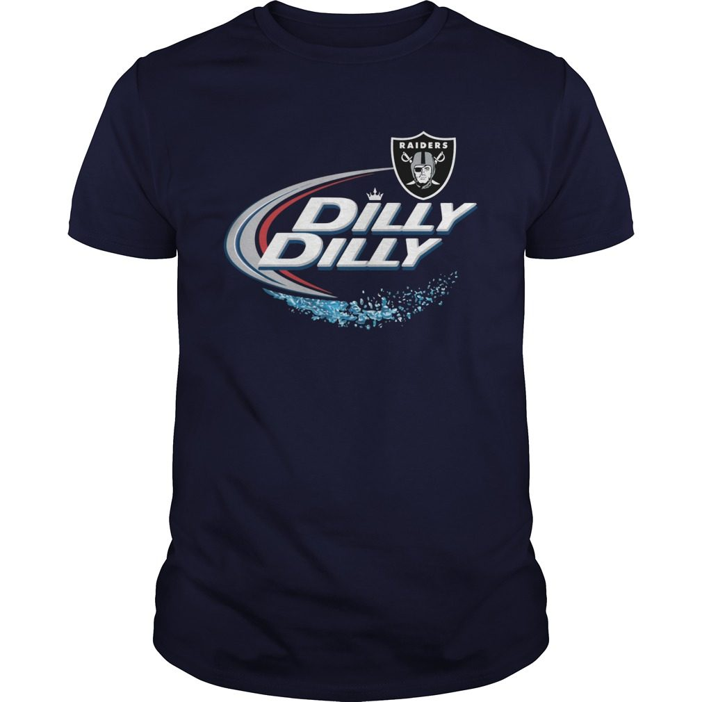 Official Dilly Dilly Oakland Raiders Shirt, Hoodie, Sweater And V Neck T Shirt