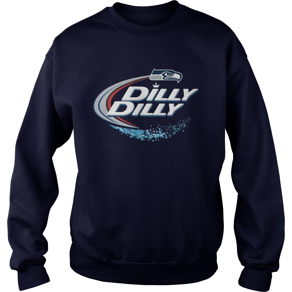 Official Dilly Dilly Seattle Seahawks Shirt, Hoodie, Sweater And V Neck T Shirt