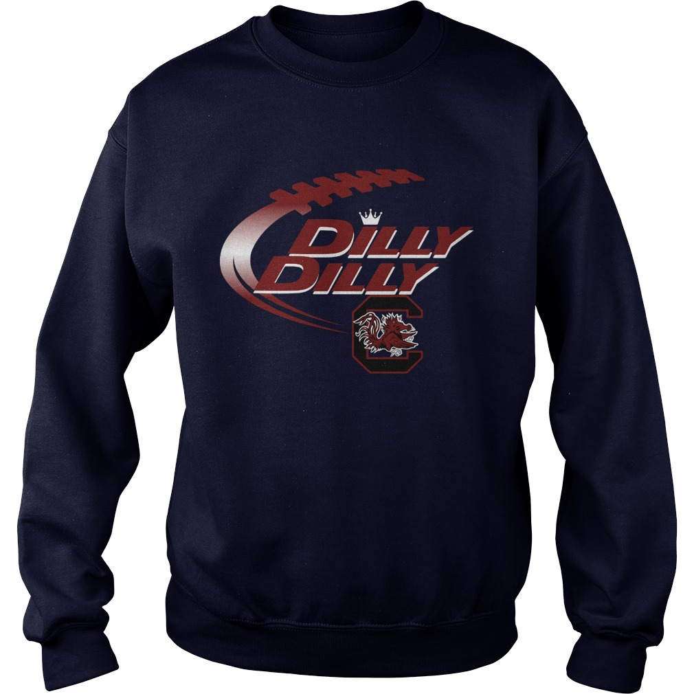 Official Dilly Dilly South Carolina Gamecocks Nfl Football Bud Light Logo Sweater