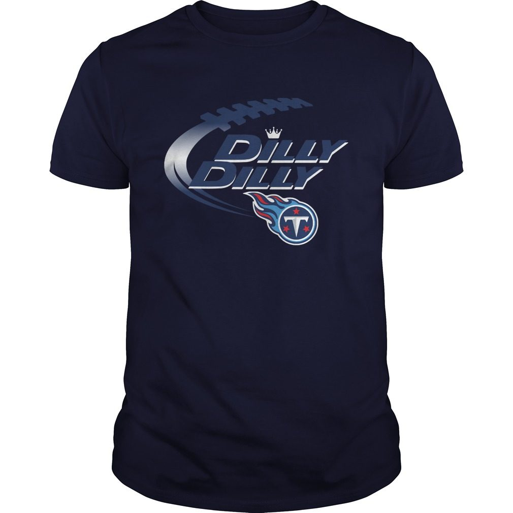 Official Dilly Dilly Tennessee Titans Nfl Football Bud Light Logo Shirt