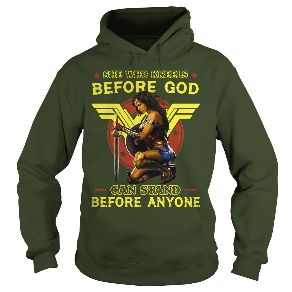 Official Kneels God Can Stand Anyone Hoodie
