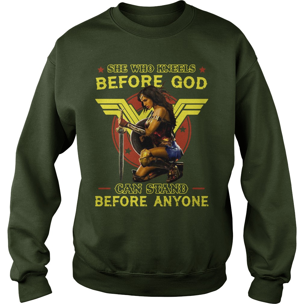 Official Kneels God Can Stand Anyone Sweater