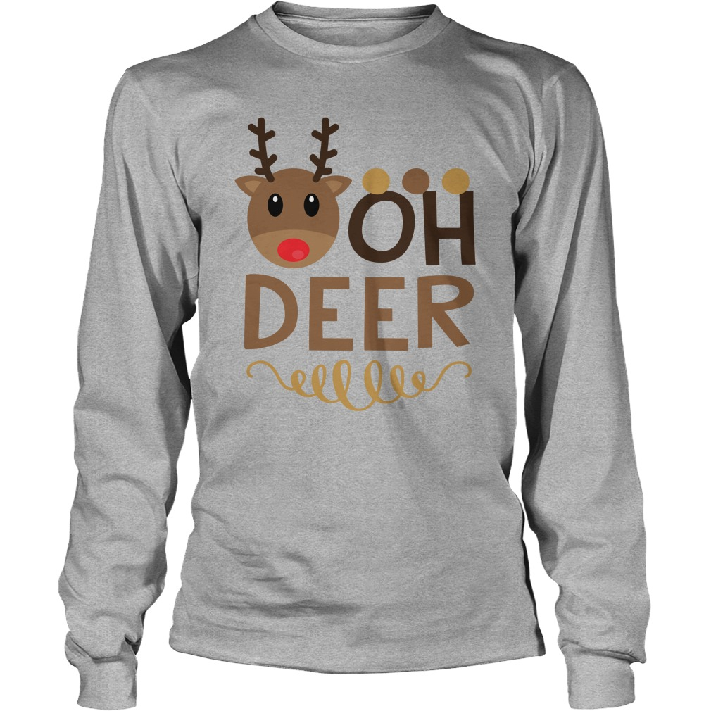Oh Deer Simply Southern Christmas Shirt, Hoodie, Sweater And Longsleeve Tee