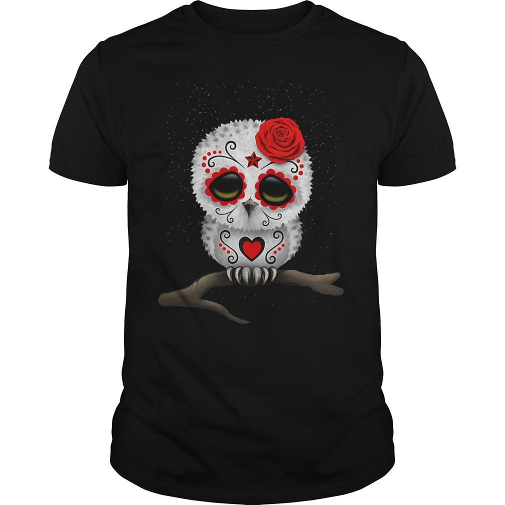 Owl Day Of The Dead Shirt