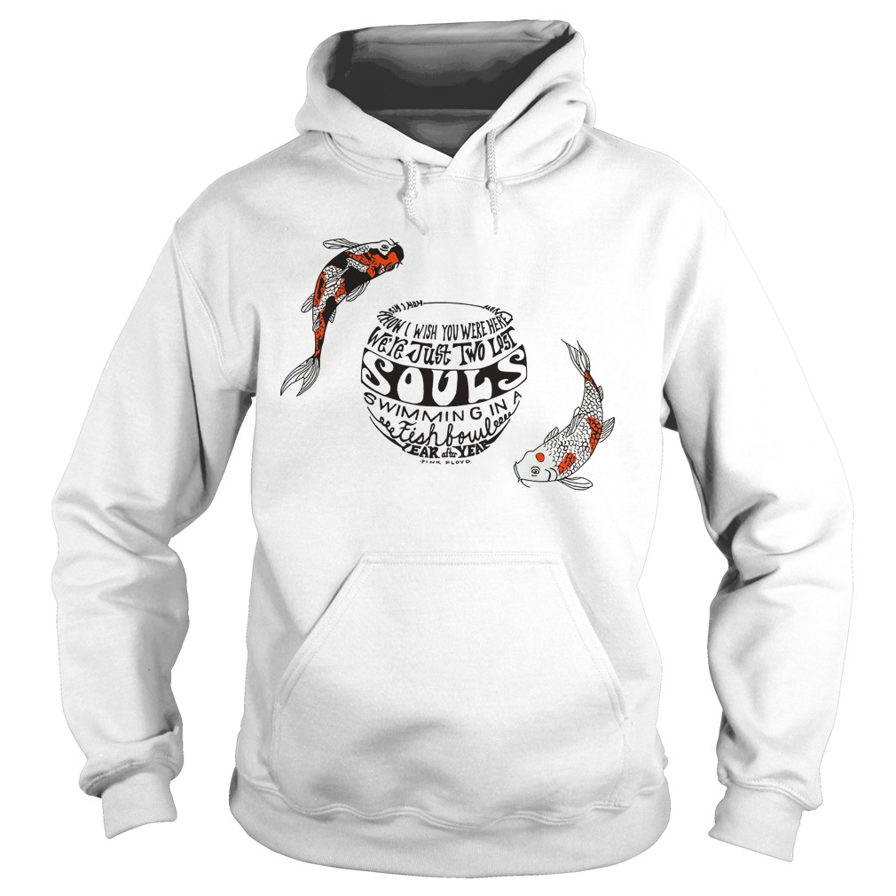 Pinkfloyd Just Two Lost Souls Swimming Fish Bowl Hoodie