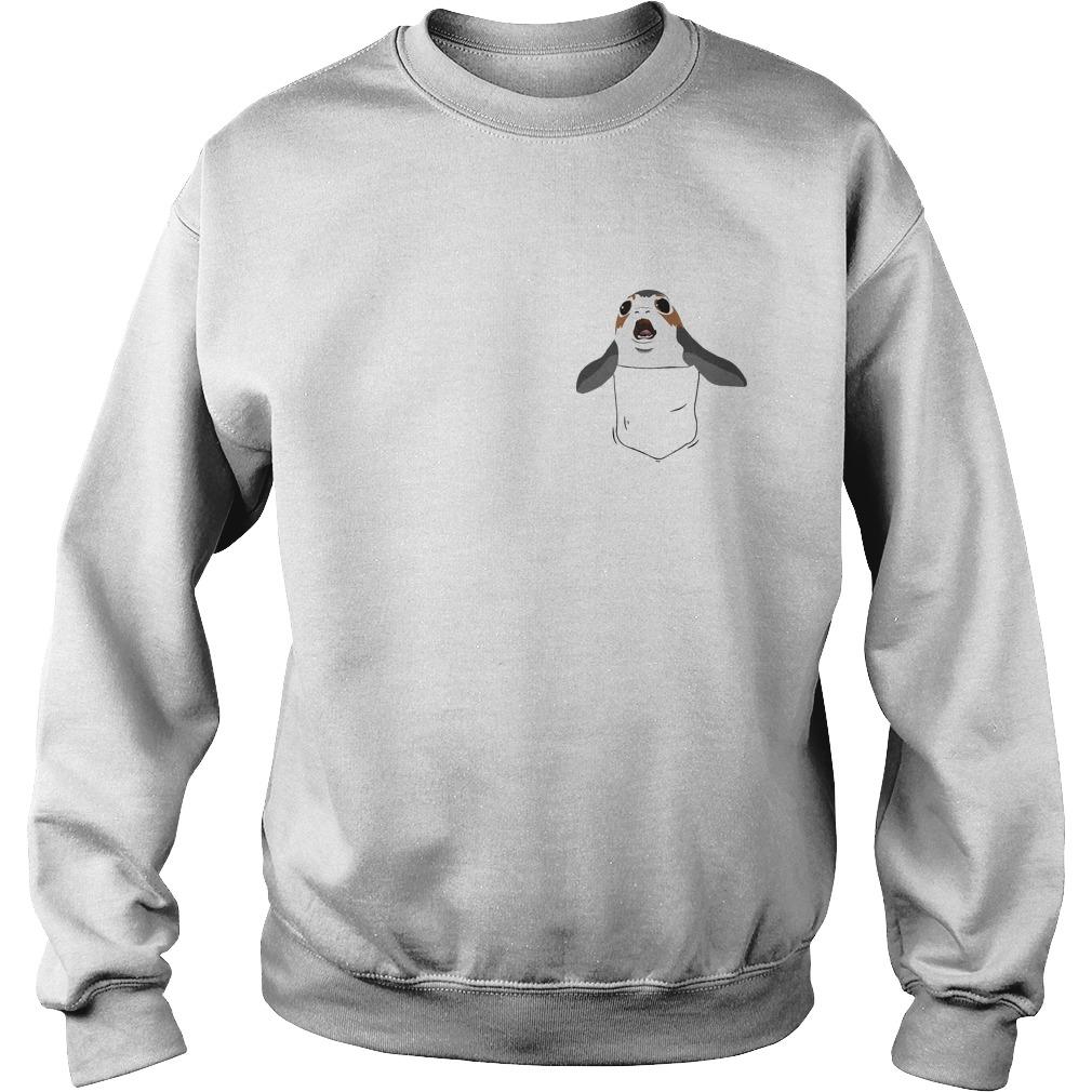 Pocket Frog Shirt Star Wars The Last Jedi Sweater