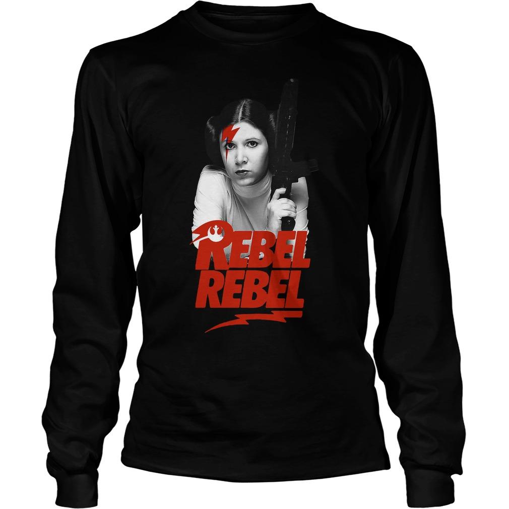 Princess Leia Rebel Rebel Star Wars Longsleeve Tee
