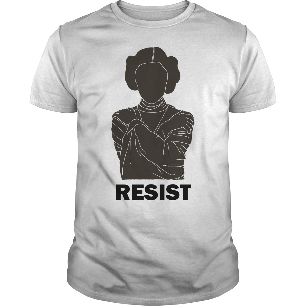Princess Leia Resist Shirt, Hoodie, Sweater And V Neck T Shirt