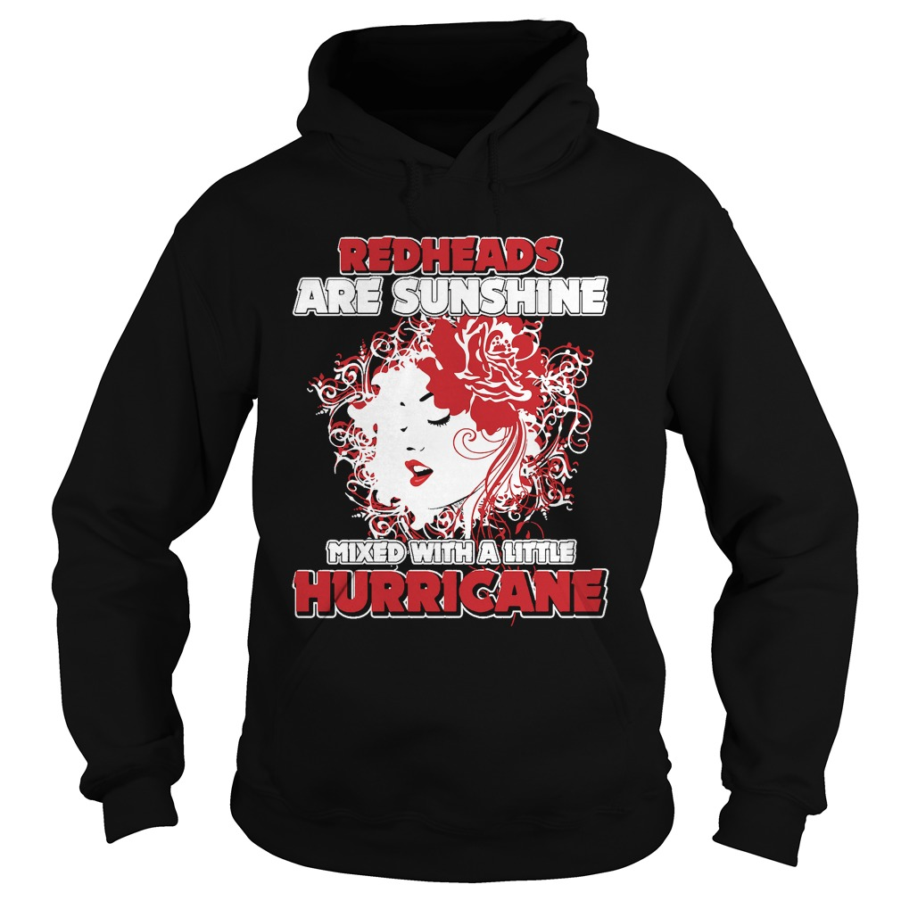 Redheads Sunshine Mixed Little Hurricane Girl Hoodie