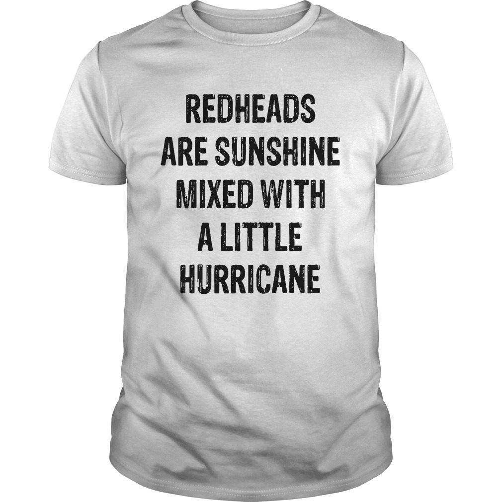 Redheads Sunshine Mixed Little Hurricane Shirt
