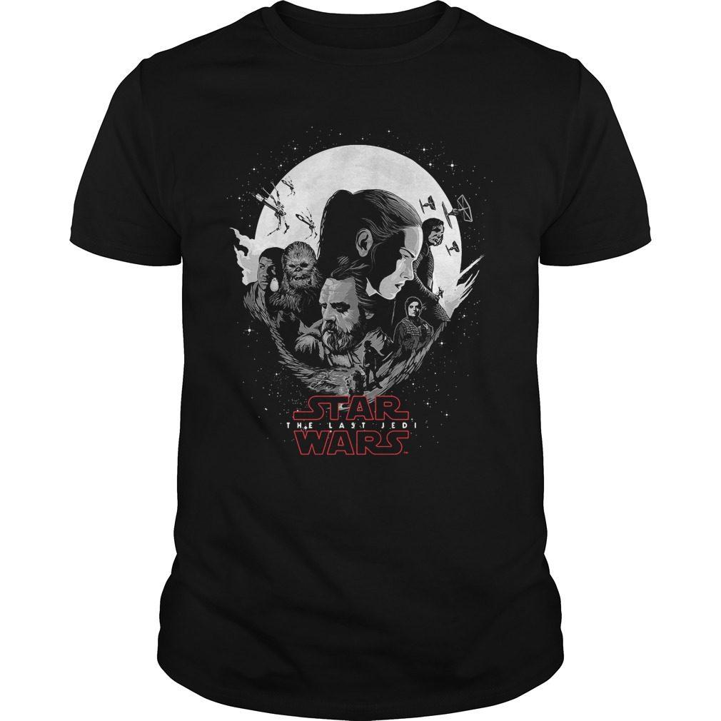 Rey Luke Skywalker Poe Chewbacca Finn Kylo Ren Shirt