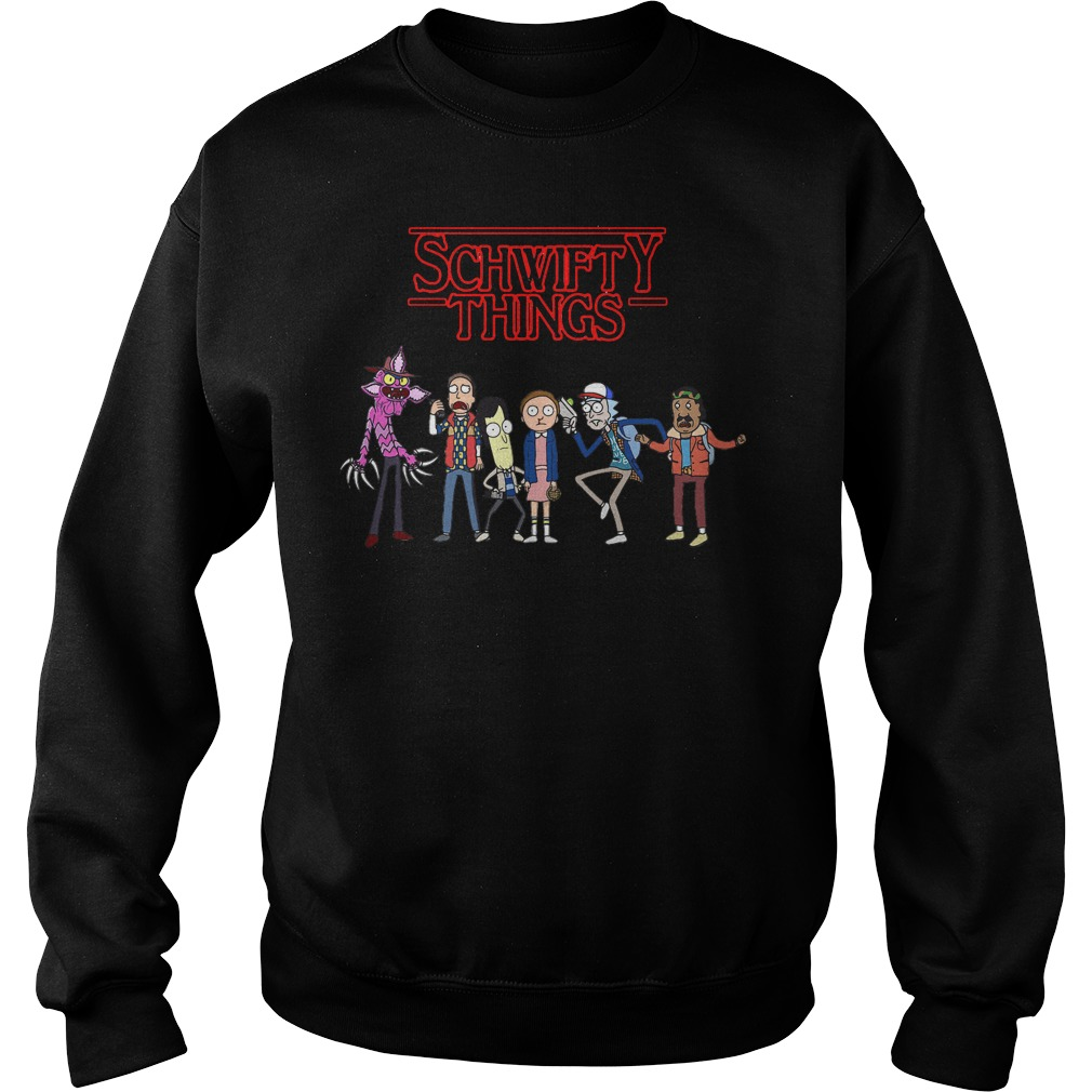 Rick And Morty Schwifty Things Sweater