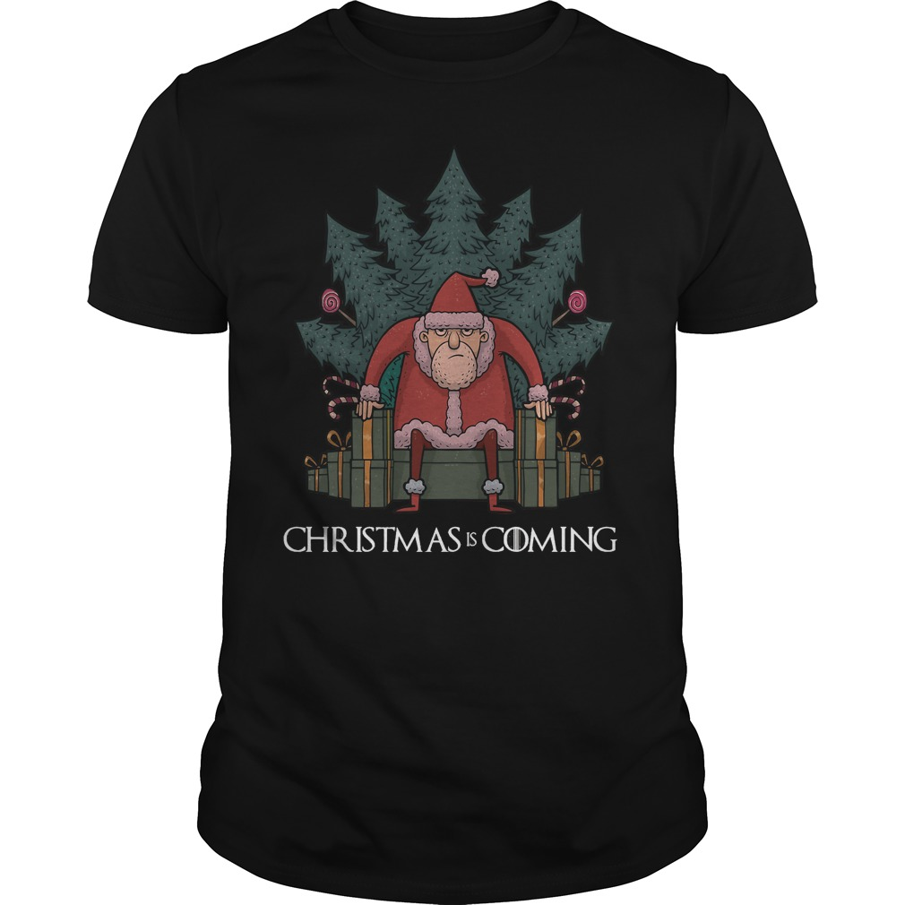Santa Of Thrones Christmas Is Coming Sweater
