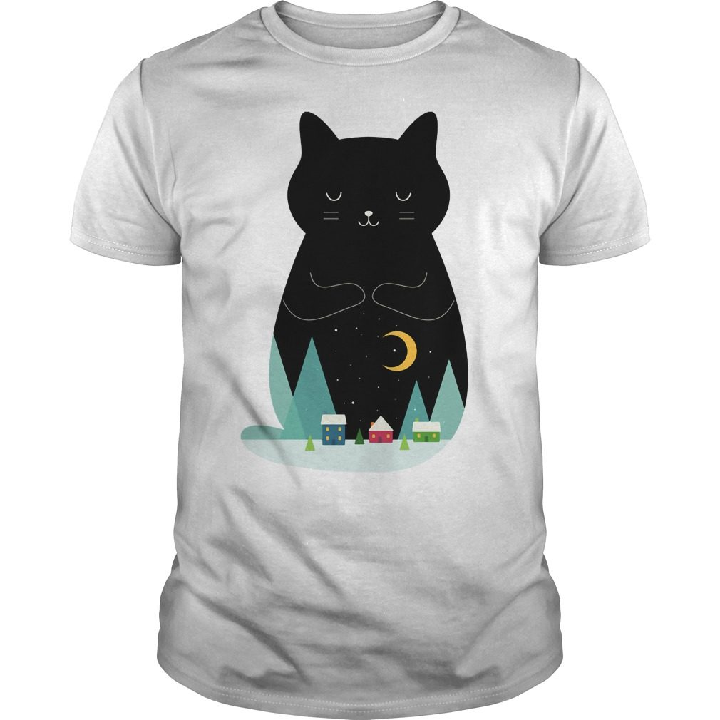 Slient Night Cat Shirt, Hoodie, Sweater And V Neck T Shirt