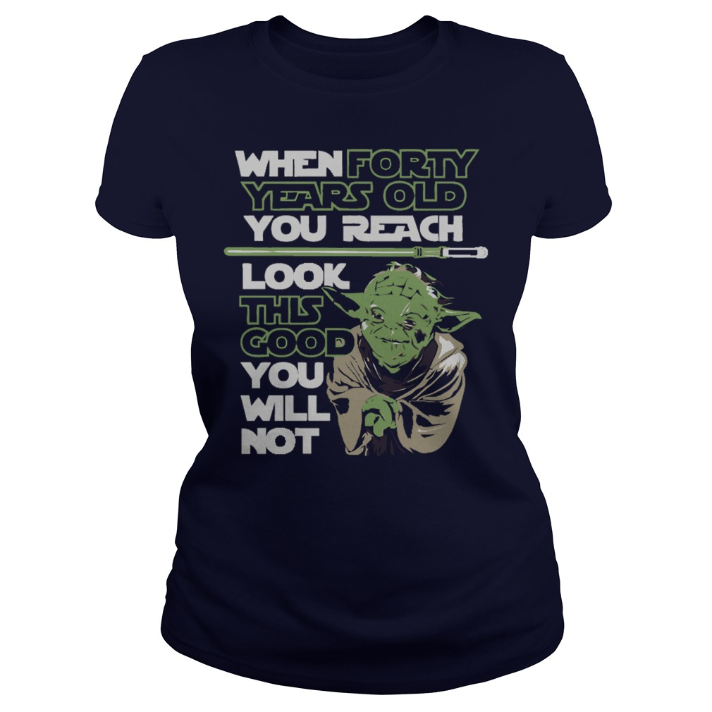 Star War Forty Shirt, Hoodie And Ladies Tee