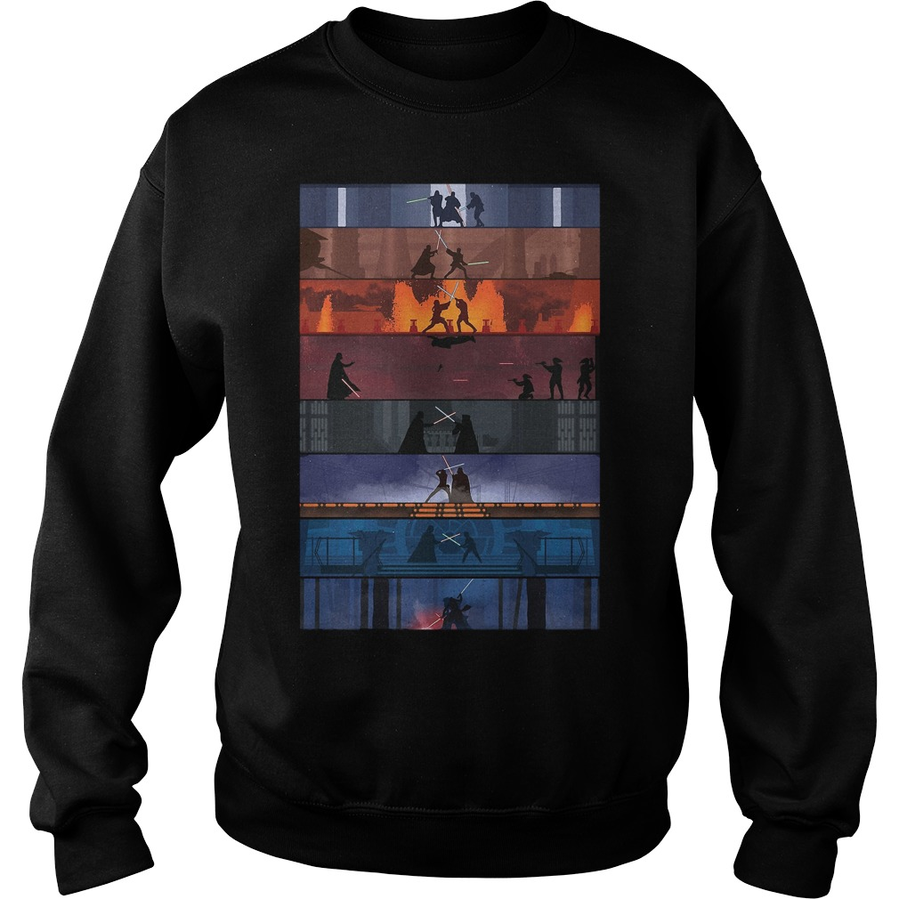 Star Wars Duels Shirt, Hoodie, Sweater And V Neck T Shirt