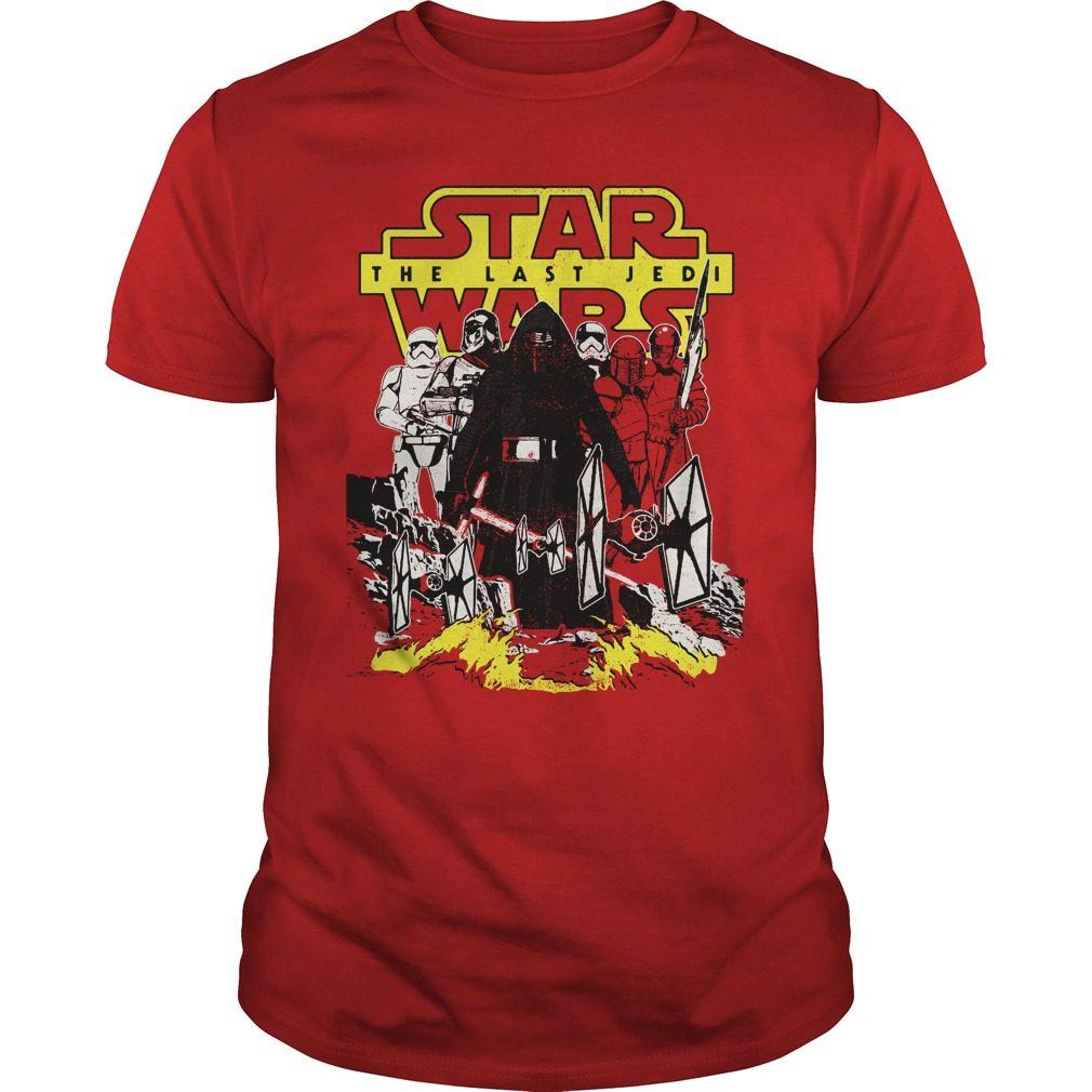Star Wars Last Jedi Dark Side Comic Shirt