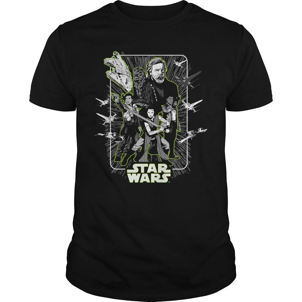 Star Wars Last Jedi Heroes Unite Shirt