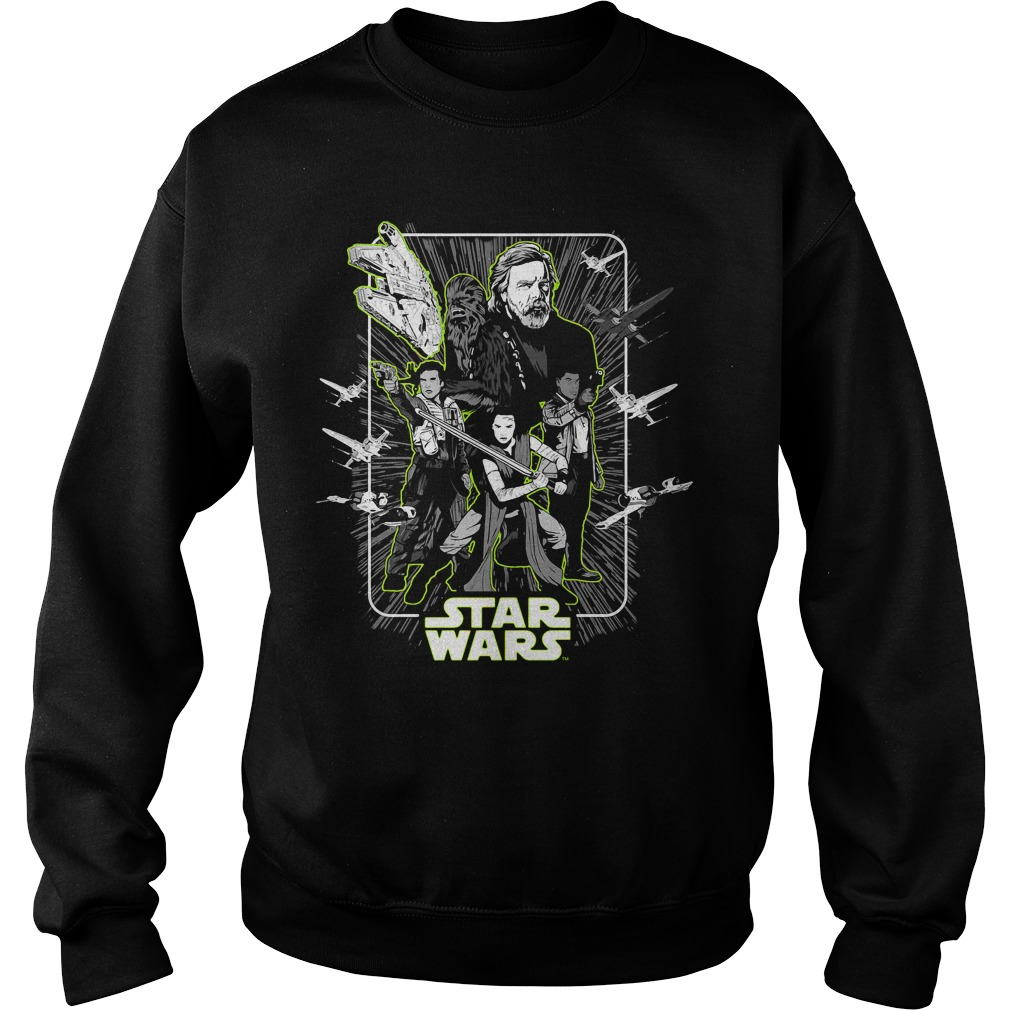 Star Wars Last Jedi Heroes Unite Sweater