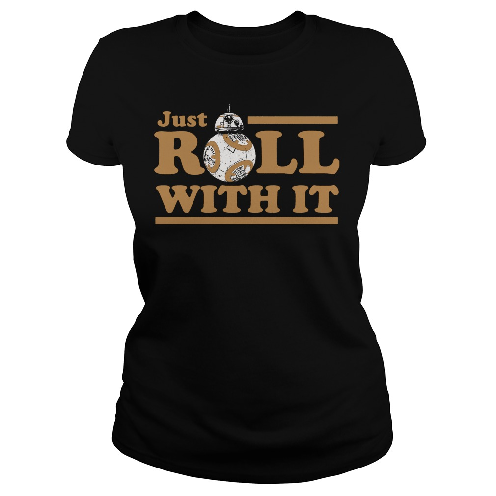 Star Wars Last Jedi Just Roll Ladies Tee
