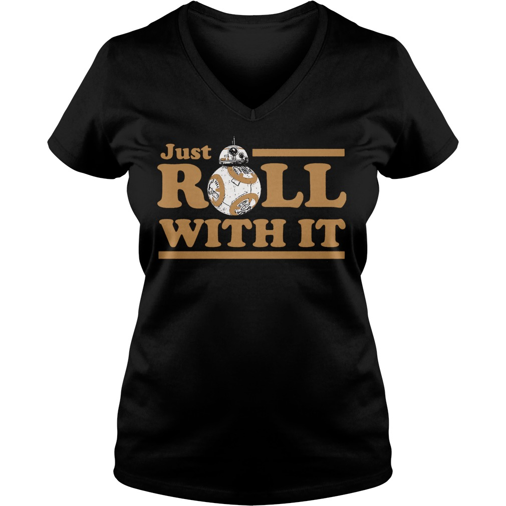Star Wars Last Jedi Just Roll V-neck t-shirt