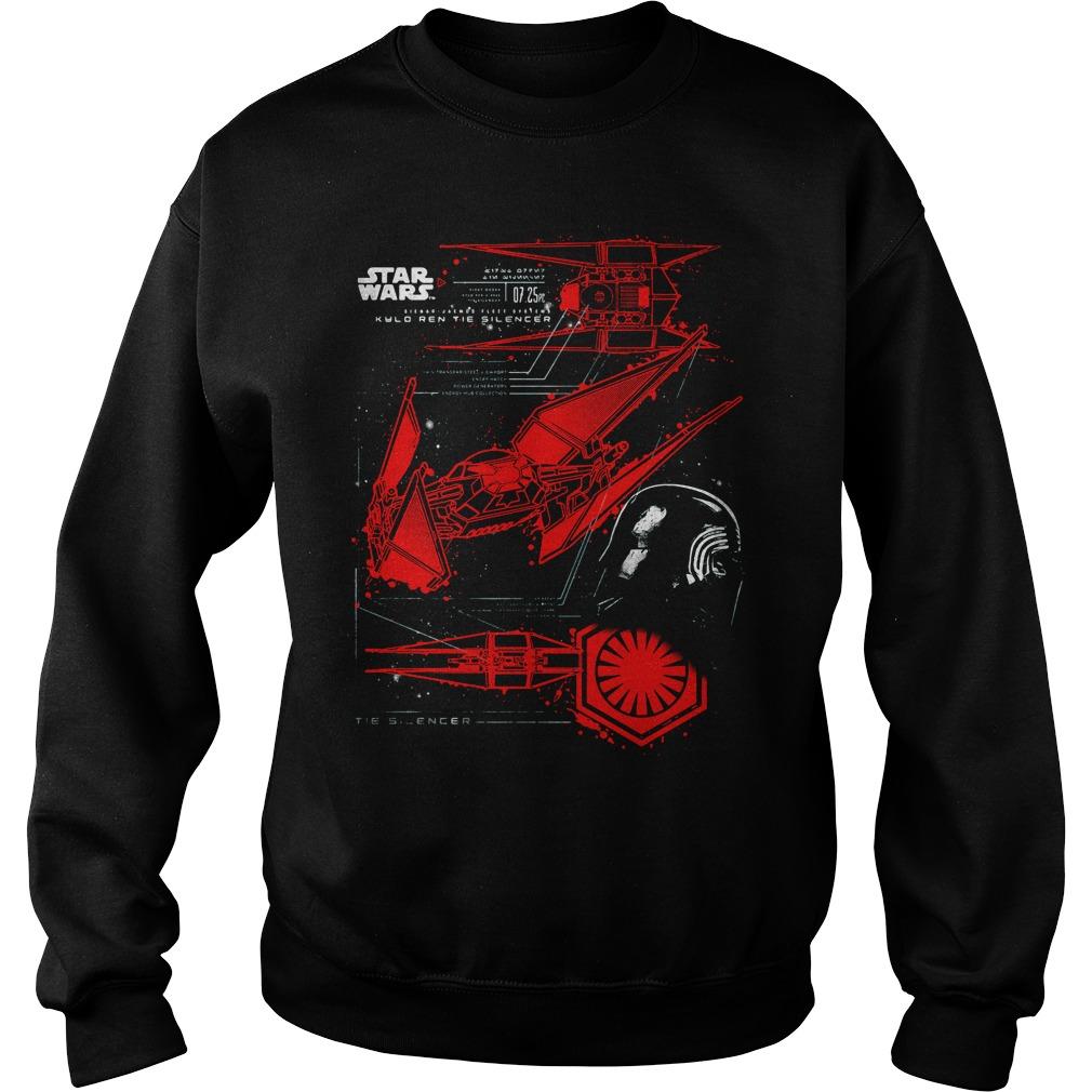 Star Wars Last Jedi Kylo Rens Tie Silencer Sweater