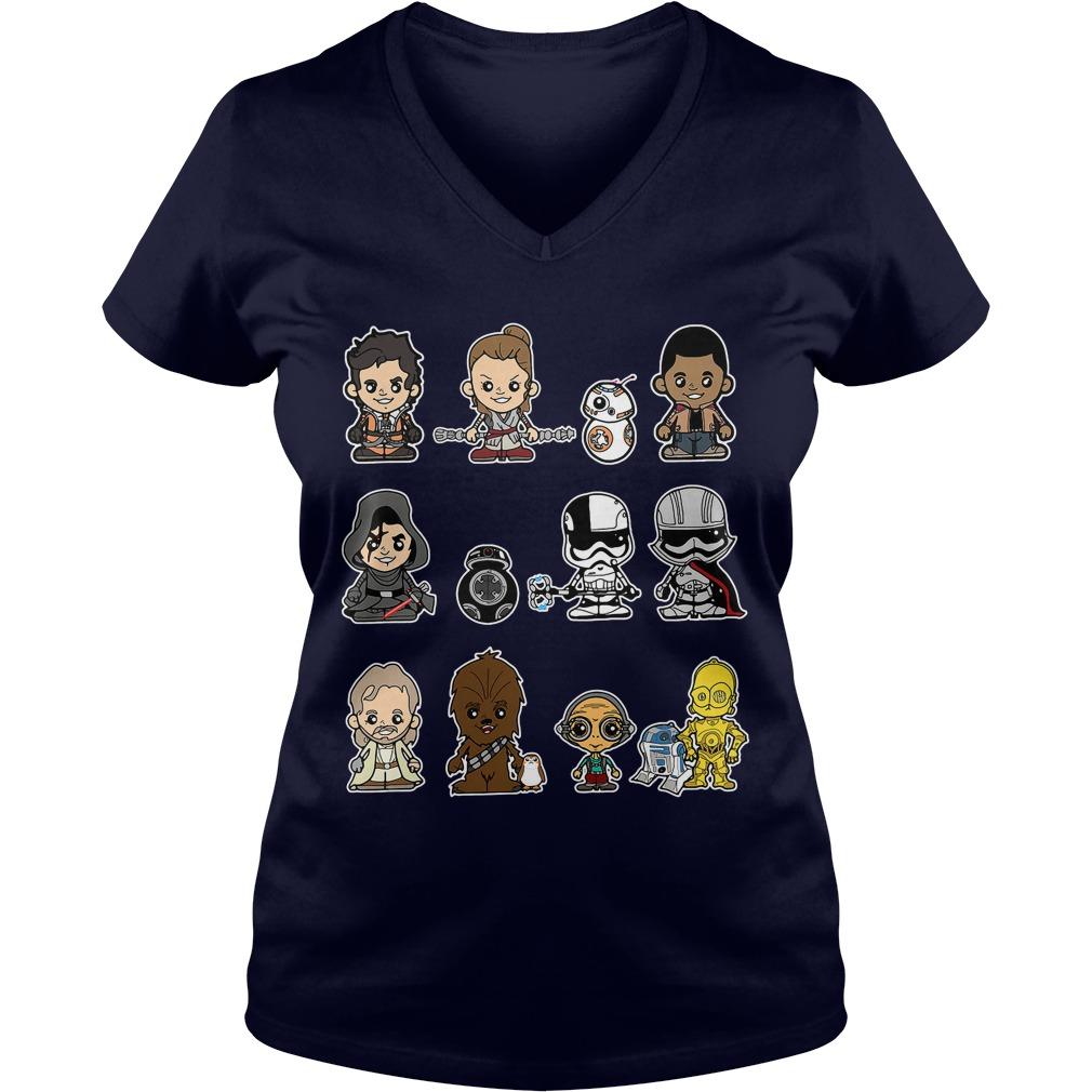 Star Wars Last Jedi Lil Last Jedi V-neck t-shirt