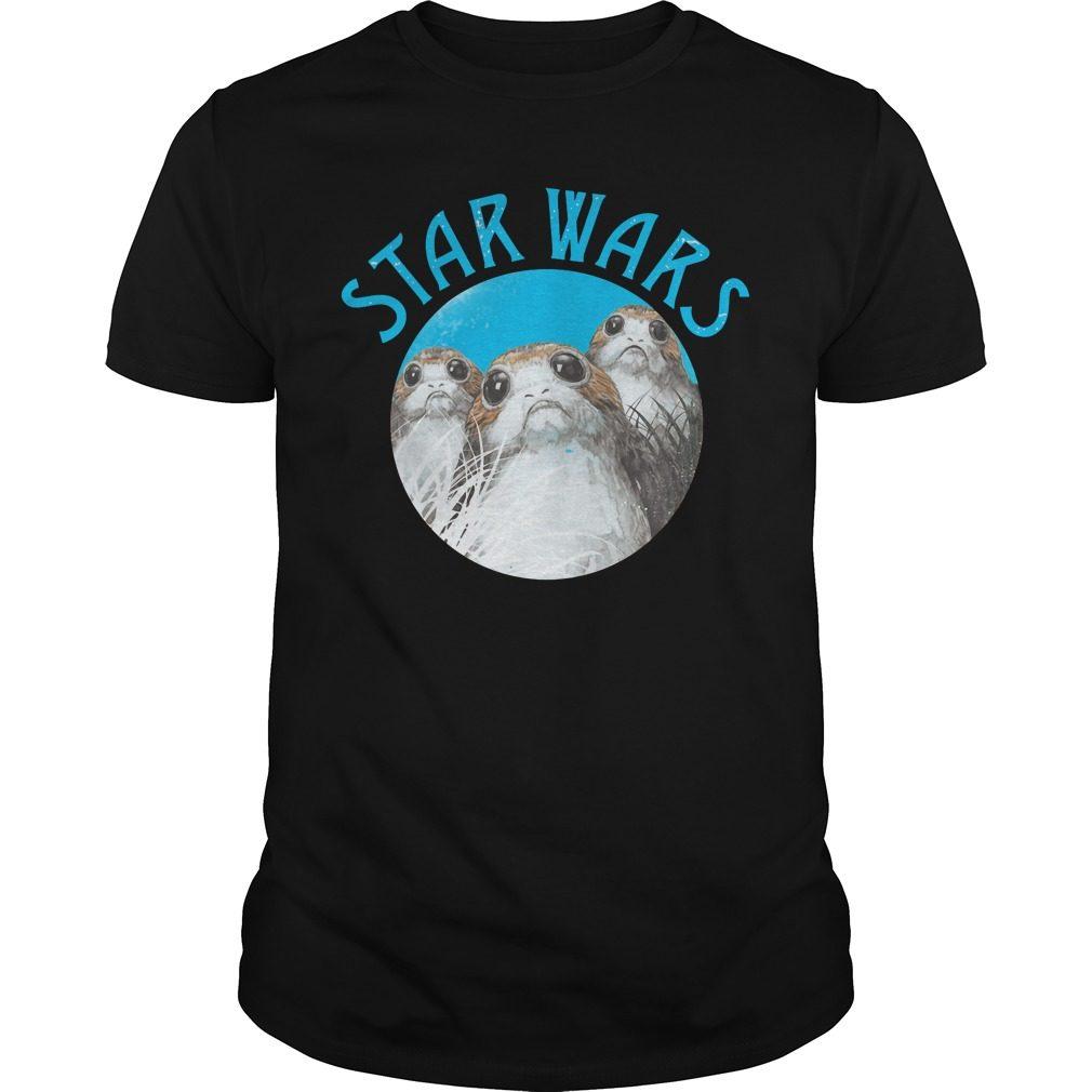 Star Wars Last Jedi Porg Trio Shirt