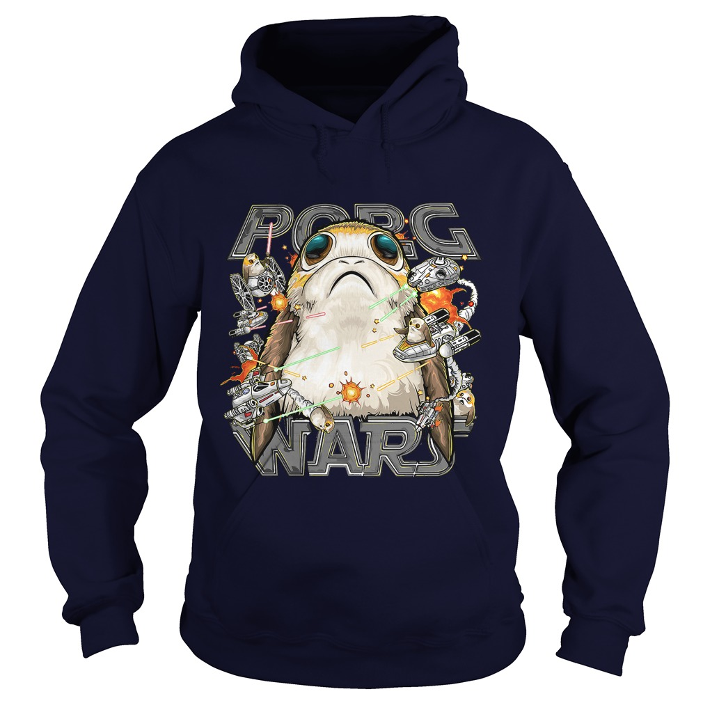 Star Wars Last Jedi Porg Wars Hoodie